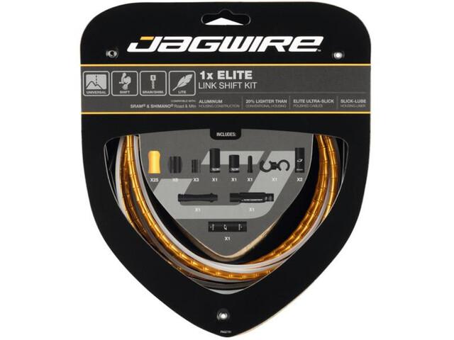 Jagwire 1X Elite Link Shift Cable Set gold